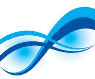 Abstrakte Aquaauslegung Stockfoto