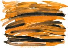 Abstrakte Aquarellanschläge als Hintergrund Lizenzfreies Stockbild
