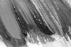 Abstrakte Aquarellbürstenanschläge der Farbe auf Weißbuch backgr Stockfotografie