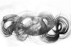 Abstrakte Aquarellbürstenanschläge der Farbe auf Weißbuch backgr lizenzfreie abbildung
