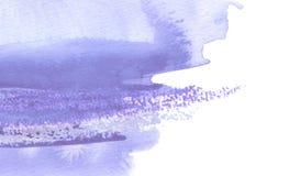 Abstrakte Aquarellbürstenanschläge malten Hintergrund Beschaffenheits-PA lizenzfreie abbildung