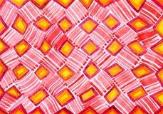 Abstrakte Aquarellzeichnung auf Papier lizenzfreie stockfotos