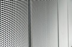 Abstrakte architectonical Stahlstruktur Stockfotos