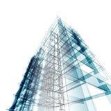 Abstrakte Architektur Stockbild