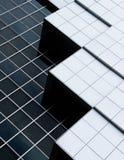 Abstrakte Architektur eines modernen Gebäudes Stockfoto