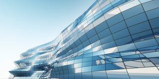Abstrakte Architekturwand Lizenzfreies Stockfoto