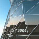Abstrakte Architekturwand Lizenzfreie Stockbilder