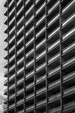 Abstrakte Architekturzusammensetzung im Hintergrund und in der Beschaffenheit Stockfotografie