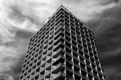 Abstrakte Architekturzusammensetzung im Hintergrund und in der Beschaffenheit Lizenzfreie Stockbilder