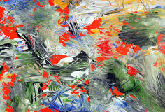 Abstrakte Art. gemalte Hintergrundbeschaffenheit lizenzfreies stockbild
