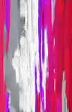 Abstrakte Artgrafik des Ölgemäldes auf Segeltuch Lizenzfreies Stockfoto