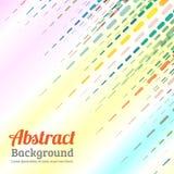 Abstrakte ausgestrichene Linie entziehen Sie Hintergrund Stockfotografie