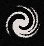 Abstrakte Auslegung der Krake-3D Stockbild