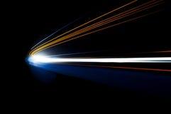 Abstrakte Autolichter Stockfotografie