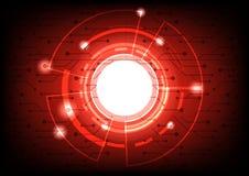 Abstrakte Bereichform des globalen Netzwerks für den zukünftigen Hintergrund Stockfotos