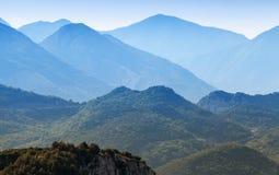 Abstrakte Berglandschaft, Montenegro Stockfoto