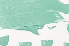 Abstrakte Beschaffenheit der tadellosen Farbe auf Papier stockfotografie