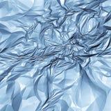 Abstrakte Beschaffenheit des blauen Papiers Lizenzfreie Stockfotografie