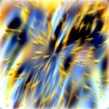 Abstrakte Beschaffenheit mit goldenen Lichtern Stockfotografie