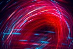 Abstrakte Beschaffenheit von Parabolischen Linien der rosa Farbe, Energie, Magnetfeld stockbild