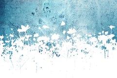 Abstrakte Beschaffenheiten und Hintergründe der Blume Stockbild
