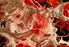 Abstrakte Betta-Fische Lizenzfreie Stockfotografie