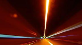 Abstrakte Bewegung unscharfes Licht Stockbild