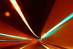 Abstrakte Bewegung unscharfes Licht Lizenzfreie Stockbilder