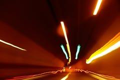 Abstrakte Bewegung unscharfes Licht Stockfotos