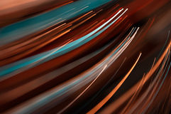 Abstrakte Bewegungszeilen Stockfotos