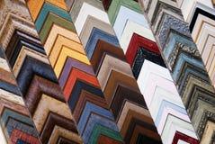 Abstrakte Bilderrahmen-Farben Lizenzfreie Stockfotos