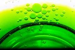 Abstrakte Blasen des Wassers Stockfotografie