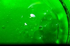 Abstrakte Blasen des Wassers Stockbilder