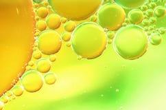 Abstrakte Blasen Makro Stockfoto