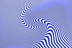 Abstrakte Blau-Wellen Lizenzfreies Stockfoto