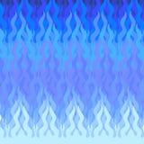 Abstrakte blaue Abbildung mit copyspase lizenzfreie abbildung