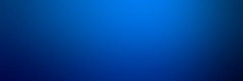 Abstrakte blaue Farbglatter Steigungshintergrund Azurblaues oder blaues te Lizenzfreie Stockfotos