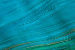 Abstrakte blaue Flussgouachemalerei, Detail lizenzfreie stockbilder