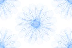 Abstrakte blaue Formen Stockfoto