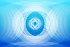 Abstrakte blaue Hintergrund-Tapete Lizenzfreie Stockbilder