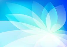 Abstrakte blaue Hintergrund-Tapete Lizenzfreies Stockfoto