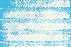 Abstrakte blaue Plakatfarbe auf Weißbuch für Hintergrund, die Oberfläche des blauen Aquarells auf weißem Hintergrund lizenzfreie abbildung
