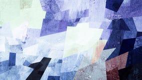 Abstrakte blaue purpurrote Farbmustertapete Lizenzfreies Stockfoto