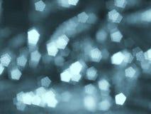 Abstrakte blaue undeutliche Rückseite Stockfotografie