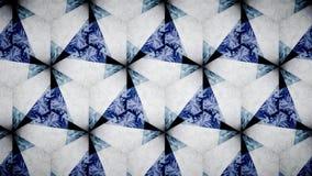 Abstrakte blaue weiße Farbmustertapete Lizenzfreie Stockfotos
