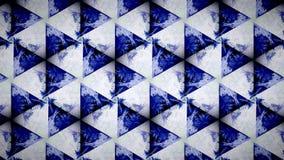 Abstrakte blaue weiße Farbmustertapete Stockfotos