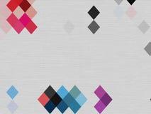 Abstrakte blaue weiße rote schwarze geomatics Blocktapete Stockfotos