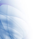 Abstrakte blaue Zeilen Stockfoto