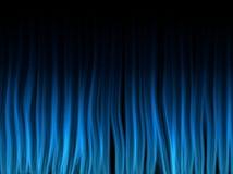 Abstrakte blaue Zeilen Hintergrund stock abbildung