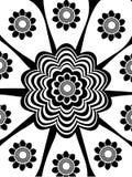 Abstrakte Blume vektor abbildung